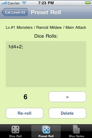 Screenshot Parvum Draco – Your Little RPG Helper